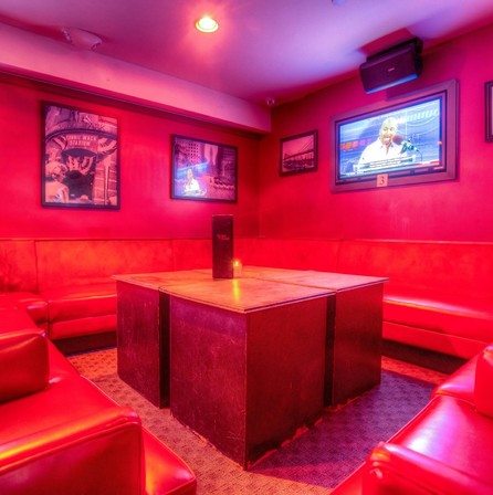 Check out our VIP lounge area - perfect to host your next birthday party in