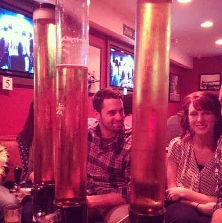 Don't miss our famous 100oz beer towers!